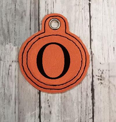 O Circle Eyelet Digital File