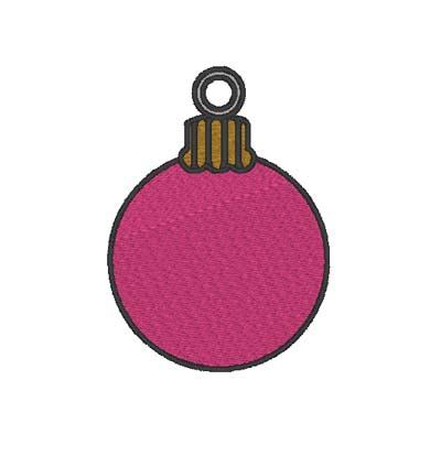Ornament Ball Medium Eyelet Digital File