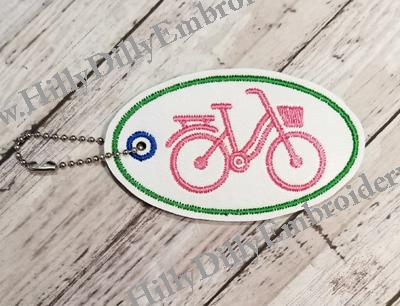 Bike Basket Oval Eyelet Digital File