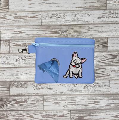 Poo Bag French Bulldog 5x7 Digital Design File