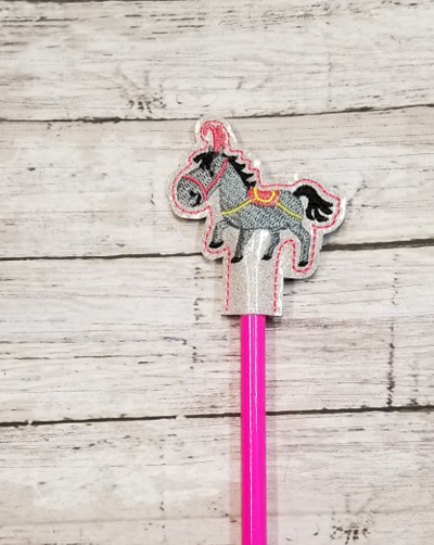 Pencil Circus Horse Topper Digital File