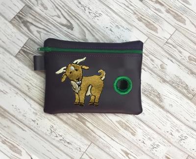 Poo Bag Baby Goat 5x7 Digital Design File