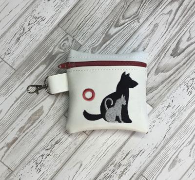 Poo Bag Dog Cat 4x4 Digital Design File