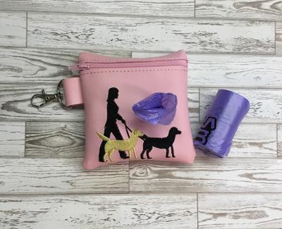 Poo Bag Dog Walker Lab 4x4 Digital Design File