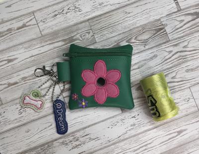 Poo Bag Flower2 5x7 Digital Design File