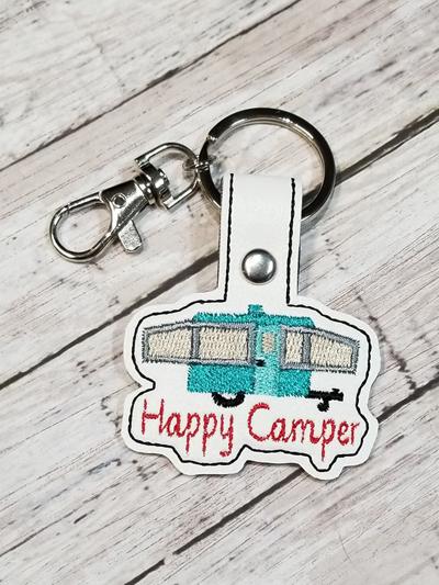 PopUp Camper Snap Tab Digital Fob