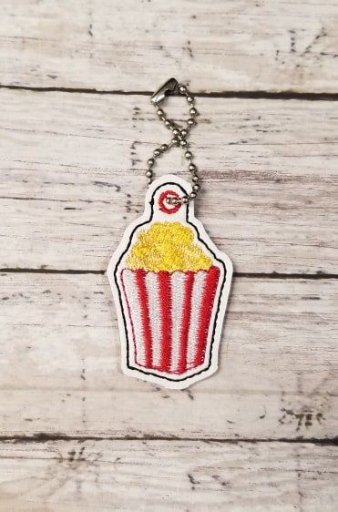 Popcorn Charm Digital File