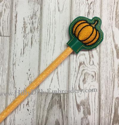 Pumpkin Pencil Topper Digital File
