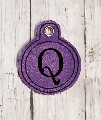 Q Circle Eyelet Digital File