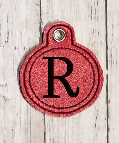 R Circle Eyelet Digital File