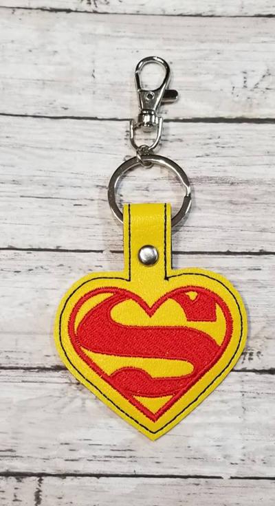 Super Heart Snap Tab Digital File