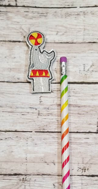 Pencil Circus Seal Topper Digital File