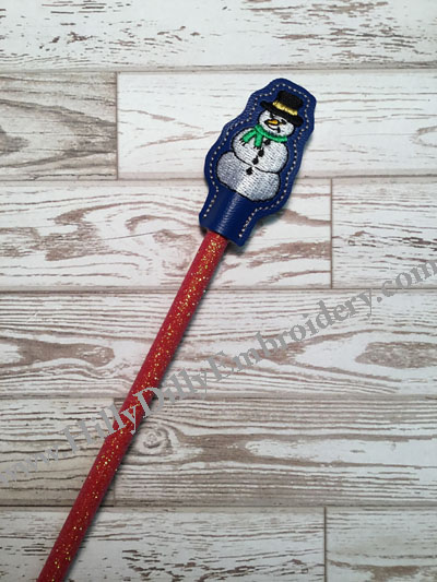 Snowman2 Pencil Topper Digital File