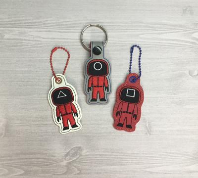 Red Men Fob & Eyelet set Digital Design File
