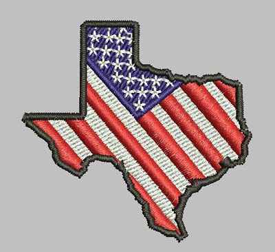 Texas State Patriotic Flag Snap Tab Digital File