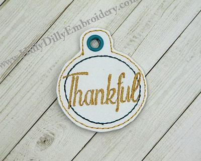 Thankful Circle Eyelet Digital File