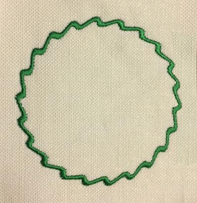 Twisted Ribbon Circle Digital Design File