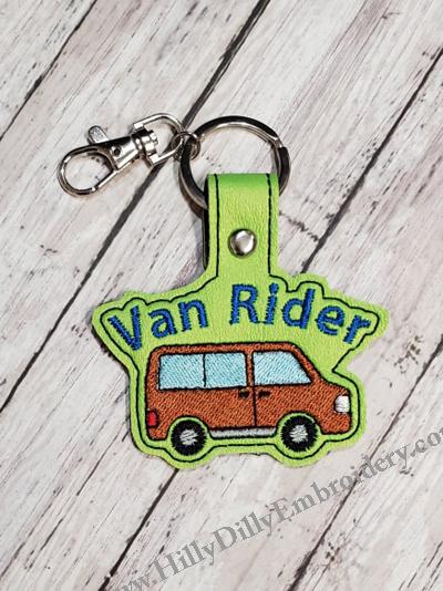 Van Rider Snap Tab Digital File