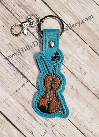 Violin Snap Tab Digital File