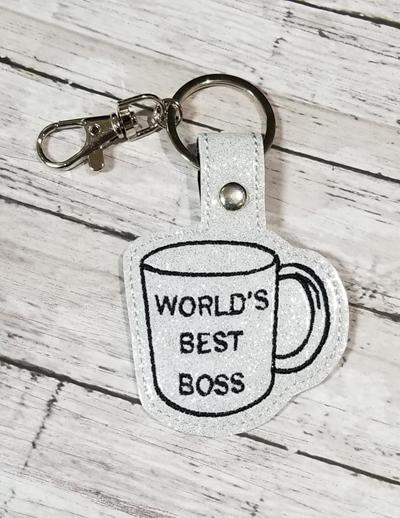 Best Boss Mug Snap Tab Digital File