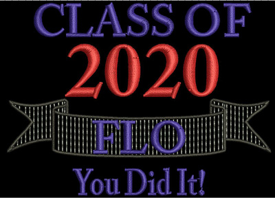Class of 2020 You Did It 4x4 Digital Design