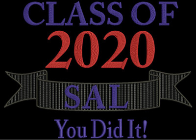 Class of 2020 You Did it 5x7 Digital Design